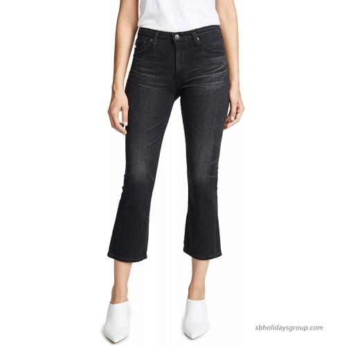 AG Adriano Goldschmied Women's Jodi High-Rise Crop Flare Inside Slit at  Women's Jeans store