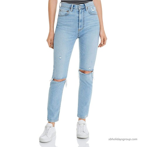 Boyish Women's Blue The Zachary High Rise Skinny Jeans at  Women's Jeans store