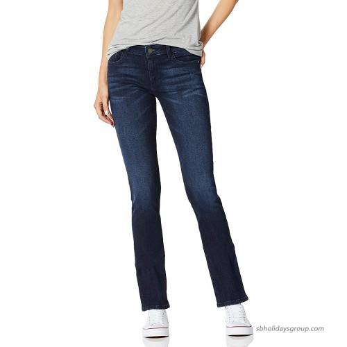 DL1961 Women's Grace Mid Rise Slim Straight Beckett 26 at  Women's Jeans store