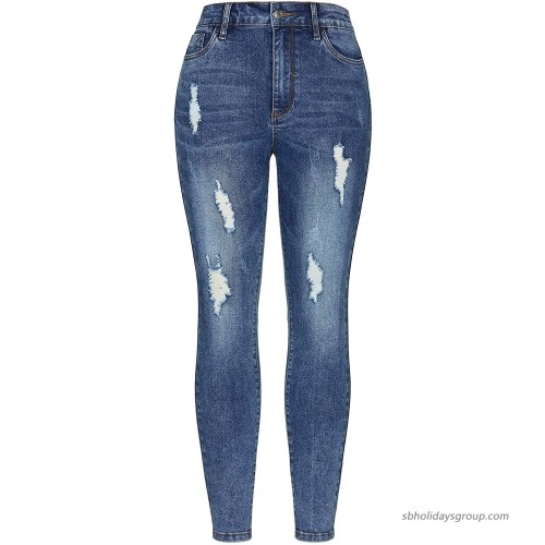 Grneric Women's High-Rise Stretch-Comfortable Skinny Jeans at  Women's Jeans store