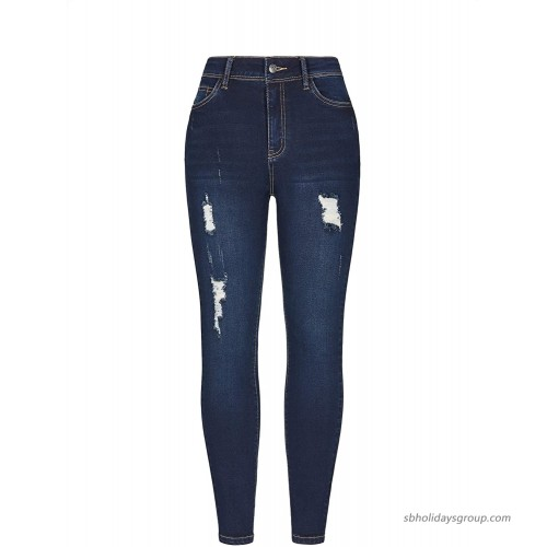 Grneric Women's Mid-Rise Casual Stretch Skinny Jeans at  Women's Jeans store