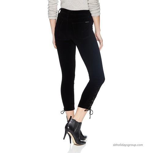 HUDSON Jeans Women's Nix High Rise Lace Hem Crop 5 Pocket Jean at Women's Jeans store