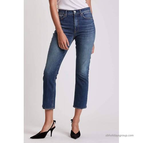 HUDSON Women's Holly High Rise Cropped Bootcut Jean at  Women's Jeans store