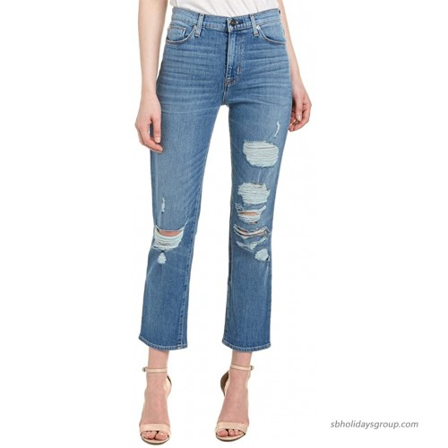 HUDSON Women's Zoeey High Rise Straight Jean at  Women's Jeans store