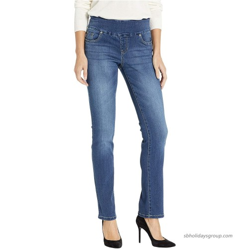 Jag Jeans Penny Straight Pull-On Jeans in Dark Wash Dark Wash 2 26 Waist 33 at  Women's Jeans store