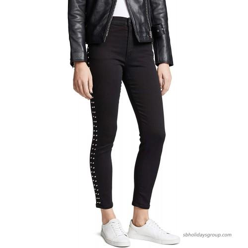 Joe's Jeans Women's Charlie High Rise Skinny Ankle Side Stud Jean at  Women's Jeans store