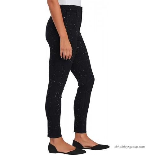 Sanctuary Social Standard Womens Denim Sparkle Splatter Jean Black 4 27 at Women's Jeans store