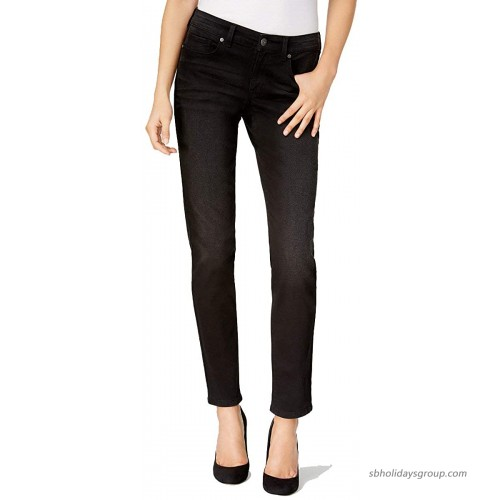 Style & Co Womens Performance Stretch Skinny Jeans Black Rinse 18 at  Women's Jeans store