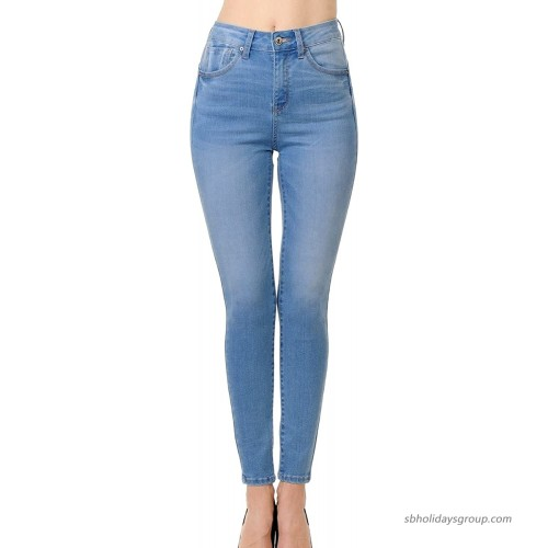 wax jean Women's High-Rise Push-Up Skinny Jeans at  Women's Jeans store