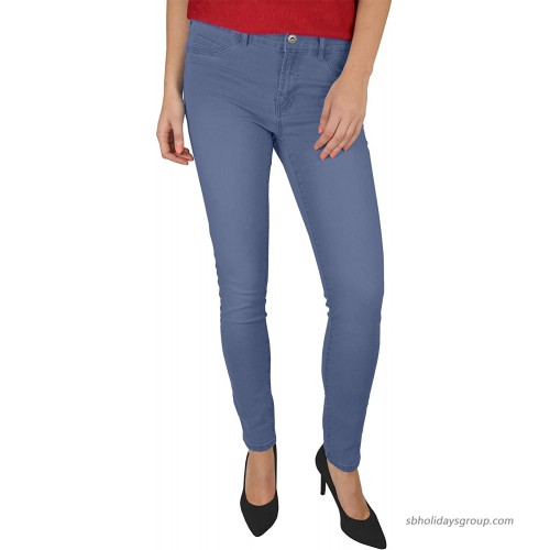 westAce Ladies Skinny Stretch Jeans Spandex Jeggings Slim Fit Trouser at  Women's Jeans store