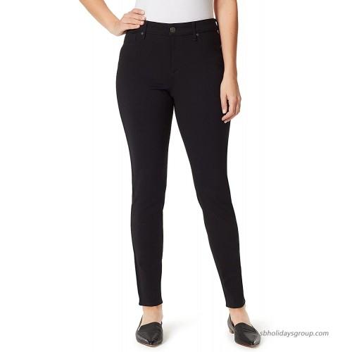 Gloria Vanderbilt Women's Amanda Ponte High Rise Knit Pant at  Women's Clothing store
