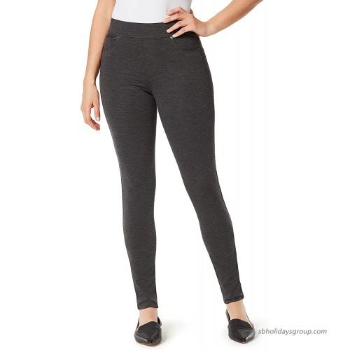 Gloria Vanderbilt Women's Avery Slim Pull on Pant at  Women's Clothing store