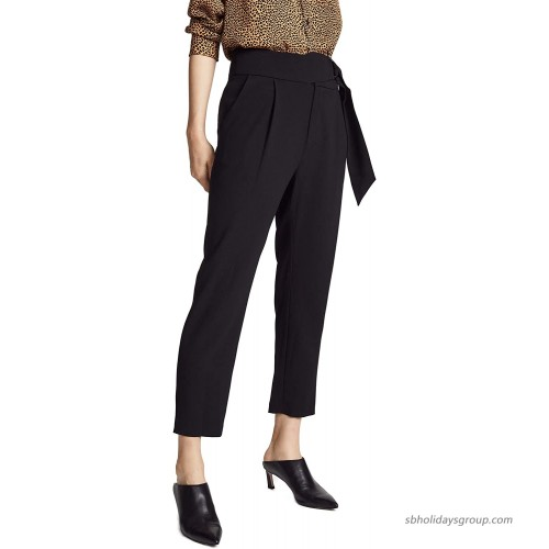 Ramy Brook Women's Hudson Tapered Dress Pant at  Women's Clothing store