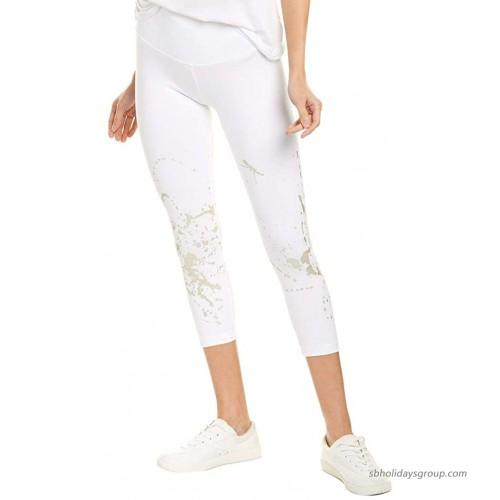 Lyssé Women's Juno Crop Foil Legging at  Women's Clothing store