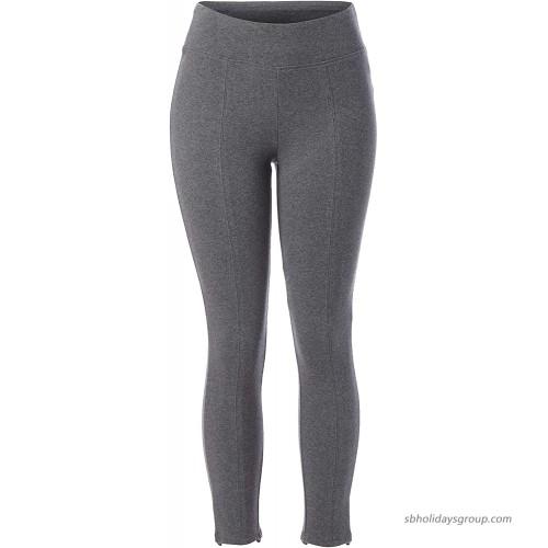 Skinnygirl Women's Culture Stylish Back Slit Seamed Ankle Legging at  Women's Clothing store
