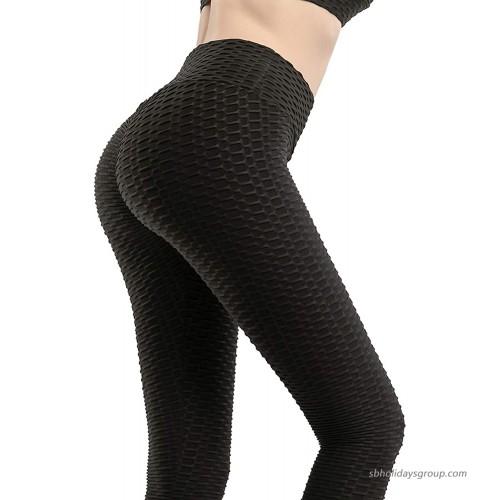 ThusFar Leggings for Women Butt Lifting High Waisted Yoga Pants Workout Body Tight Pants Breathable
