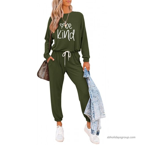 ETCYY Women's Two Piece Outfits Sweatsuit Set Long Pant Pajamas Lounge Set Workout Athletic Tracksuit Jumpsuits Romper at  Women's Clothing store