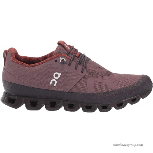 ON Running Womens Cloud Dip Canvas Grape Pebble Trainers 9.5 US Road Running