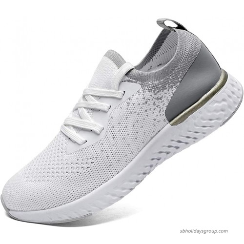 SANNAX Womens Running Shoes Fashion Casual Sneakers Walkingshoes Athletic Breathe Mesh Breathable Road Comfort Sport Road Running