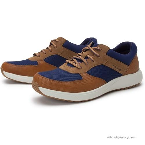Alegria TRAQ Old SQOOL Womens Smart Walking Shoe Blue 9 M US Walking