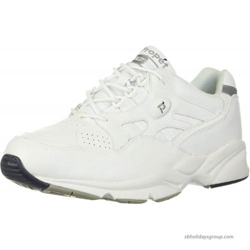 Propet Women's W2034 Stability Walker Sneaker Black 10 X US Women's 10 EE Walking