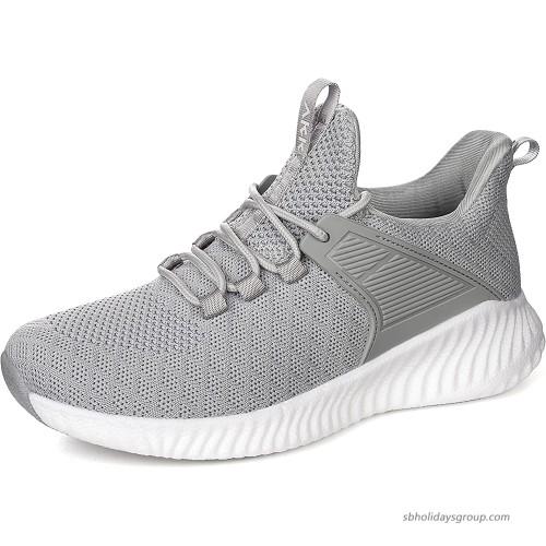 AkkWomensRunningWorkoutShoes-NonSlip LightweightGymMeshSneakersforWalking Tennis Training OutdoorSport Walking