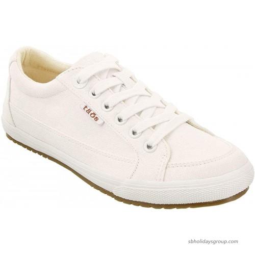 Taos Women's Moc Star Sneaker White 9.5 M Fashion Sneakers