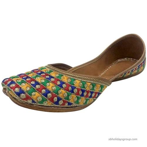 Stop n Style Punjabi Jutti for Womens Jutti Shoes Wedding Shoes Indian Jutti Mojari Online Flats