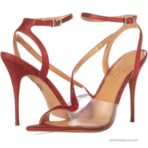 Jessica Simpson womens Whitley Pump Wicked Red 5.5 US