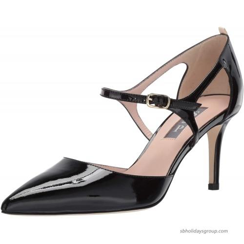 SJP by Sarah Jessica Parker Women's Phoebe Pointed Toe D'Orsay Ankle Strap Dress Pump Pumps