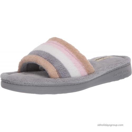 Dearfoams Women's Slide Slipper Slippers