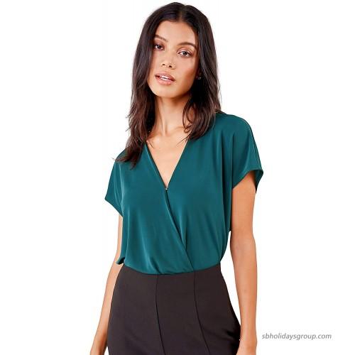 Sugar Lips womens Bodysuit blouse at  Women's Clothing store