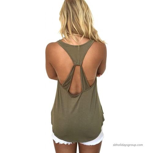 AMiERY Women's Casual Camo Tops Sleeveless T Shirts Tank Tops at  Women's Clothing store