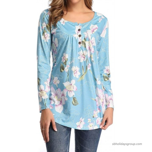 Tunic Tops for Leggings for Women Long Sleeve Womens Shirts Casual at  Women's Clothing store